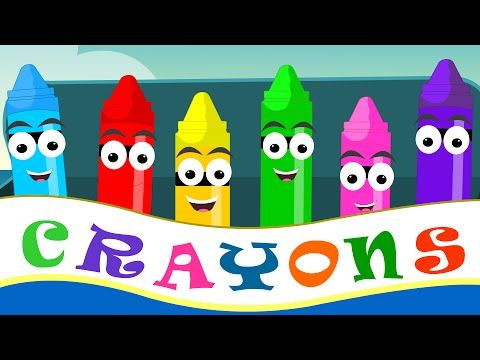 Crayons Color Song | Learn Colors for Babies And Kids | Colors for Children And Toddlers - YouTube