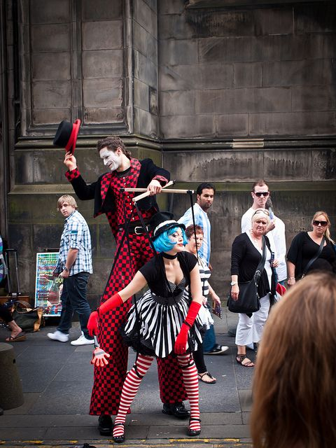 Edinburgh Fringe festival - World largest art festival