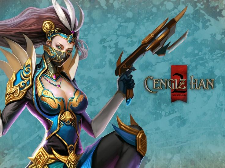 Cengiz Han 2 MMORPG oyununda bulunan Suikastçi karakteri. #game #oyun #ch2 #cengizhan2 #mmorpg