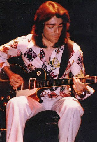 Guitar virtuoso, Steve Hackett, 1975.