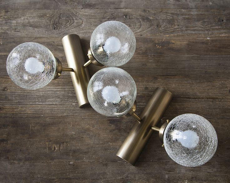Handle Studio | Brass wall lamp  300х400х250 mm, lamps E14