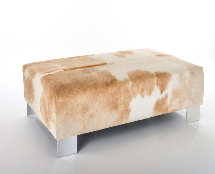 1000 Images About Cowhide Ottomans Furniture On Pinterest Queen Anne Ottomans And Cowhide
