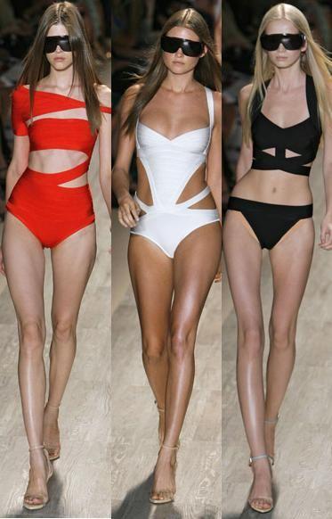 Cute swimwearBathing Suits, One Piece Swimsuits, Herve Leger, Swimwear, Black Bikini, Leger Summer, Swimming Suits, Bath Suits, Cut Out
