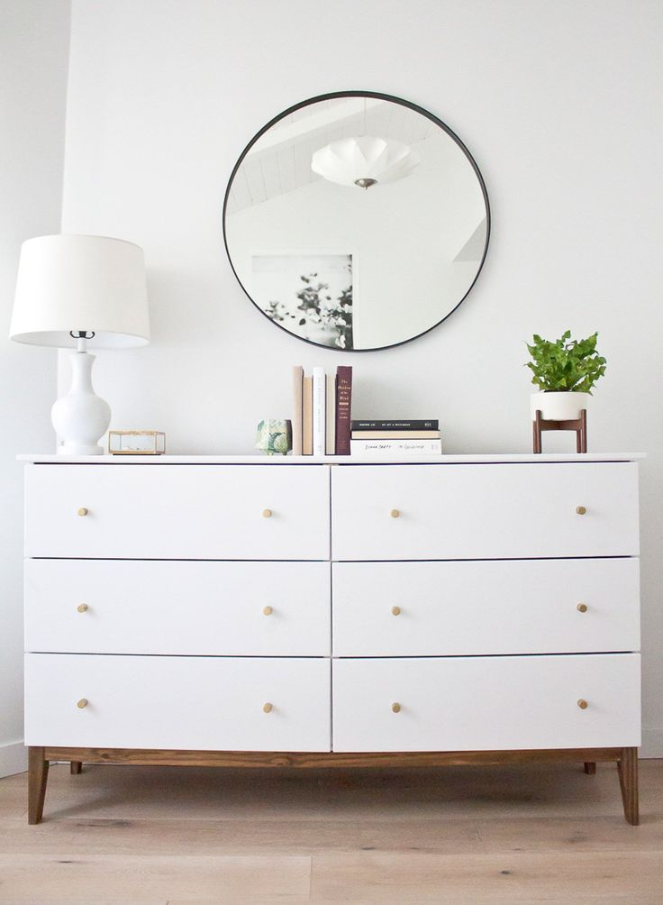 How To Make An Ikea Dresser Look Like A Midcentury Splurge Home