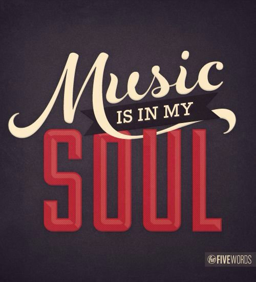 Music is in HER soul