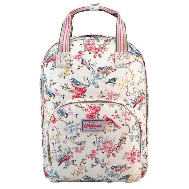 Blossom Birds Multi Pocket Backpack   Backpacks   CathKidston