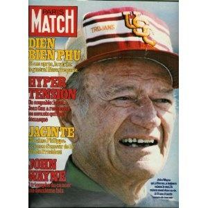 Paris Match - n°1557 - 30/03/1979 - John Wayne triomphe du cancer une 2e fois [magazine mis en vente par Presse-Mémoire]