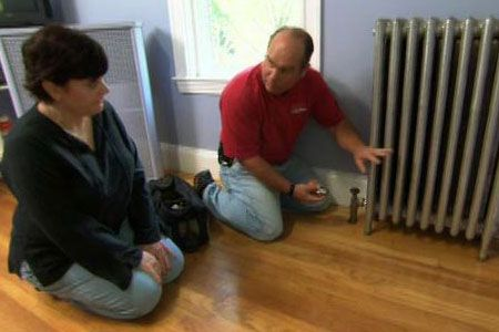 thisoldhouse.com | from Ask TOH | Radiator Control Valves, Refrigerator Install
