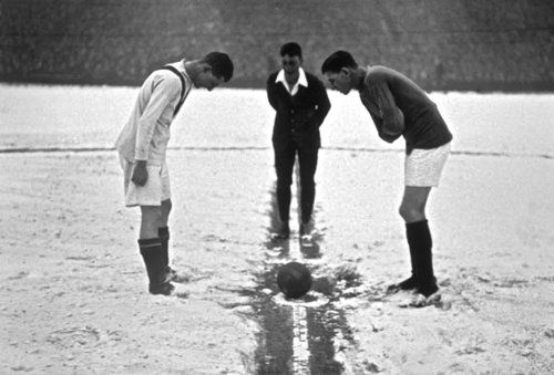 Arsenal - Manchester United, January 1929.