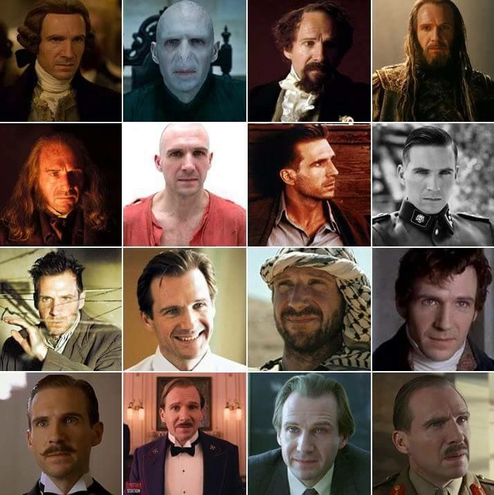 Many faces of Ralph Fiennes