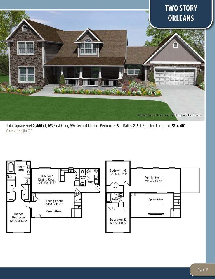 The Orleans Visit Our Website To Learn More About Our Custom Homes Or To