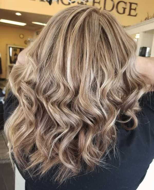 What S The Difference Between Partial And Full Highlights Dark Hair With Highlights Partial Blonde Highlights Blonde Foils