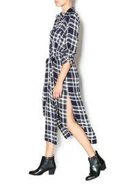 Plaid Duster Dress