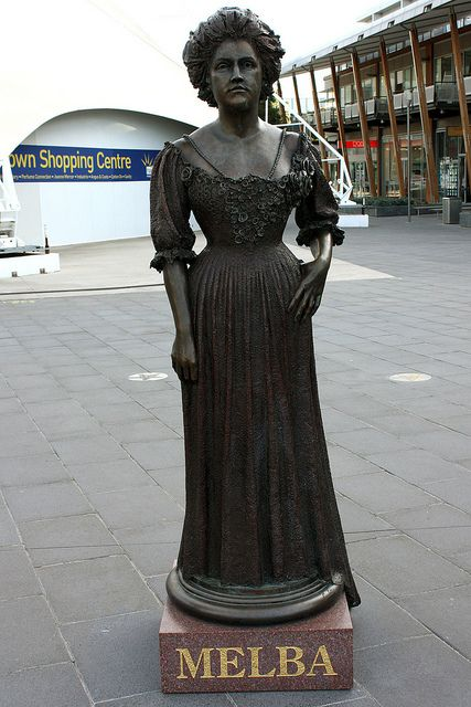 Dame Nellie Melba Statue, Docklands, Melbourne Australia | Flickr - Photo Sharing!