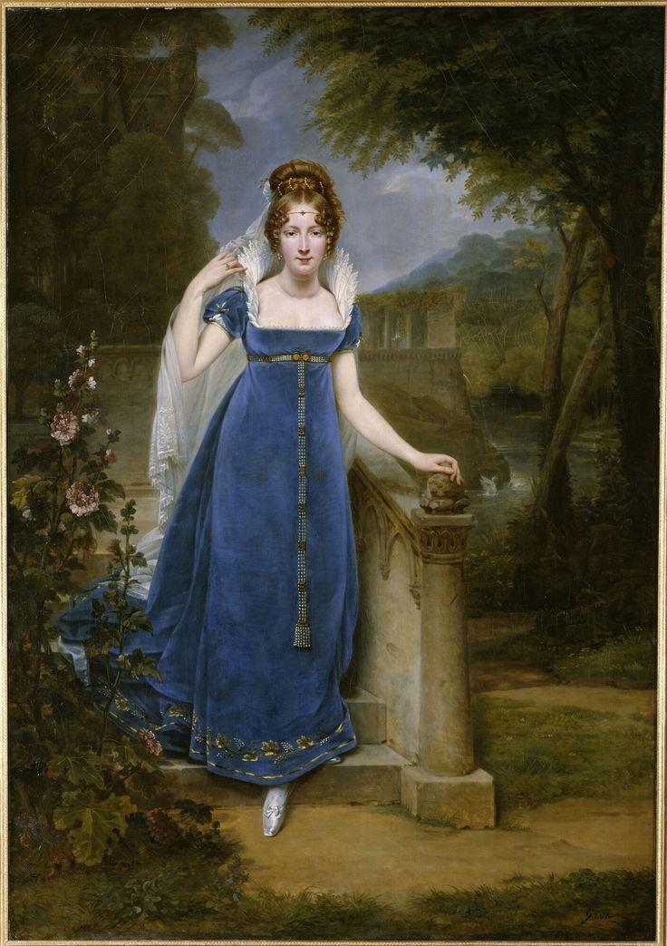 Gros, Antoine-Jean - Henriette Scherrer, comtesse Legrand, 1813