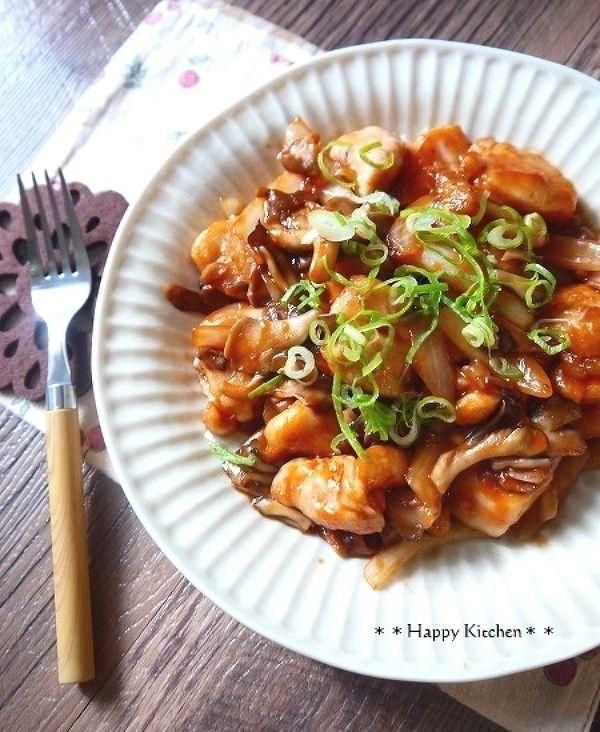 もっちり鶏むね肉と舞茸のケチャップ風味バター炒め by たっきーママ | レシピサイト「Nadia | ナディア」プロの料理を無料で検索
