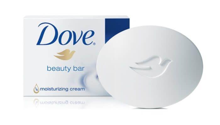Scent of Dove soap = nursery music