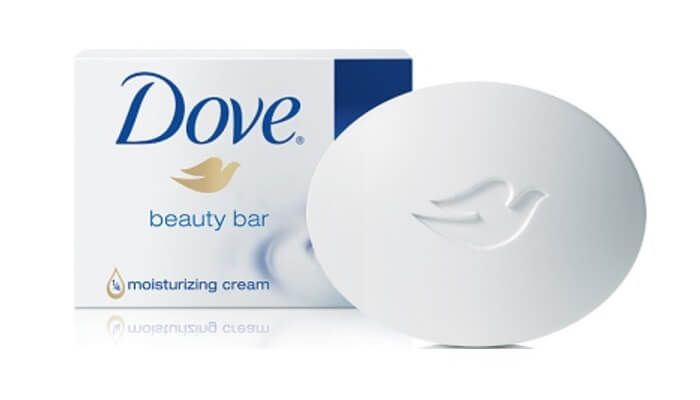 Scent of Dove soap = nursery music