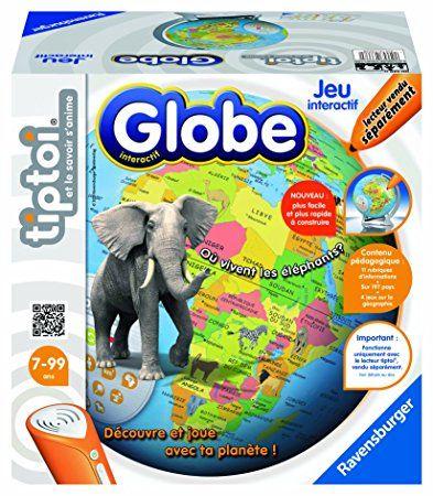 Ravensburger - 00561 - Jeu Éducatif - Globe Interactif Tiptoi: Amazon.fr: Jeux et Jouets