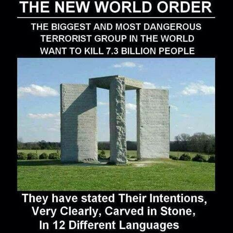 GOD IS BIGGER THAN THE New world order!  A message on how to rebuild the world for the survivors of the coming destruction ?