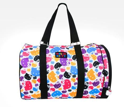 Hello Kitty Overnight Bag: Colors