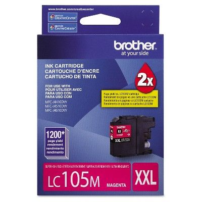 Brother LC105M Innobella Super High-Yield Ink Cartridge - Magenta (BRTLC105M)