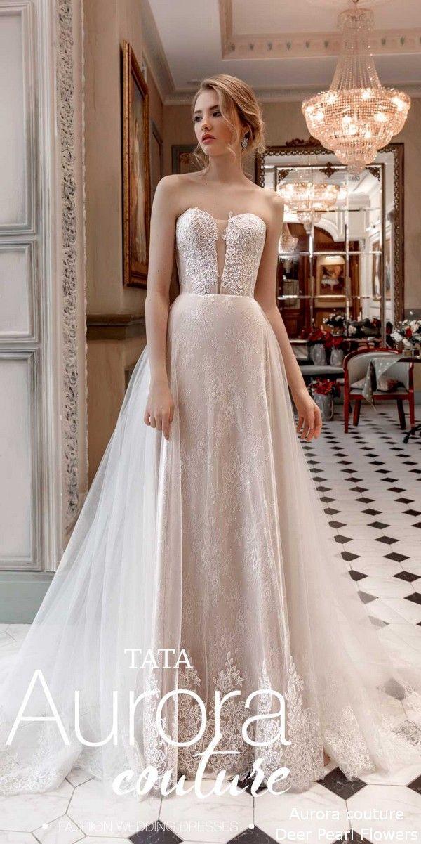 8157880b1f Aurora couture Russian Glory 2019 Wedding Dresses Tata-1 #weddings #dresses  #weddingdresses #wedding #bridaldresses #deerpearlflowers