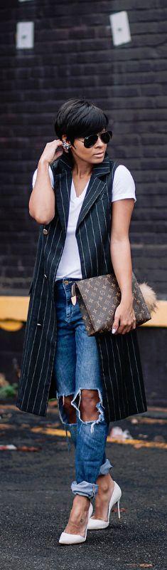 Missguided Sleeveless Trench / Fashion By Kyrzayda