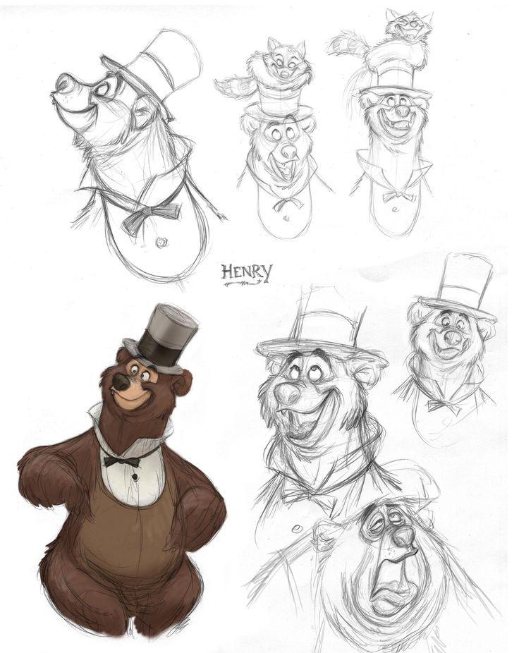 ArtStation - Country Bear Jamboree, jeff merghart