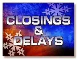 Get the latest school closings, delays and early dismissals.