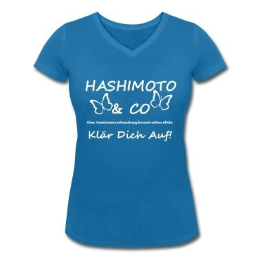 Tolles Motiv für alle, die etwas mit der Autoimmunkrankheit Hashimoto zu tun haben. Klär dich auf! #Hashimoto #Schilddrüse #Erkrankung #Krankheit #Patient #Medizin #Autoimmunkrankheit #Support #Shirts #T-Shirts #Kleidung #Geschenke