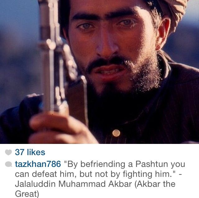 Pathan pakistan friendship quote