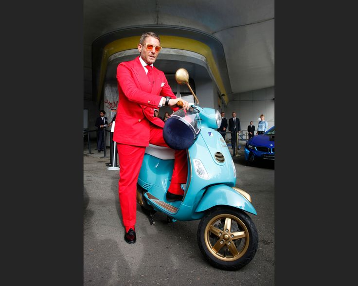 The Crazy Suits and Outrageous Cars at Lapo Elkann's Garage Italia Launch - Bloomberg Business