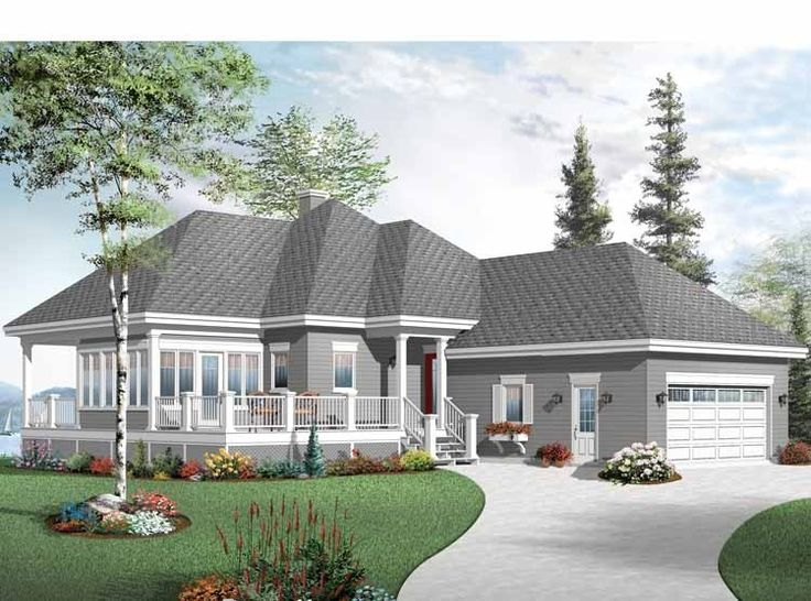 eplans cottage house plan two bedroom cottage home 1146 square feet and 2 bedrooms