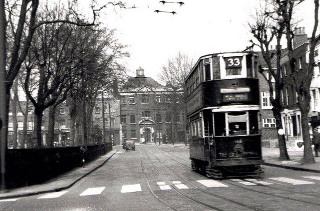 Newington Green, Islington, c 1952