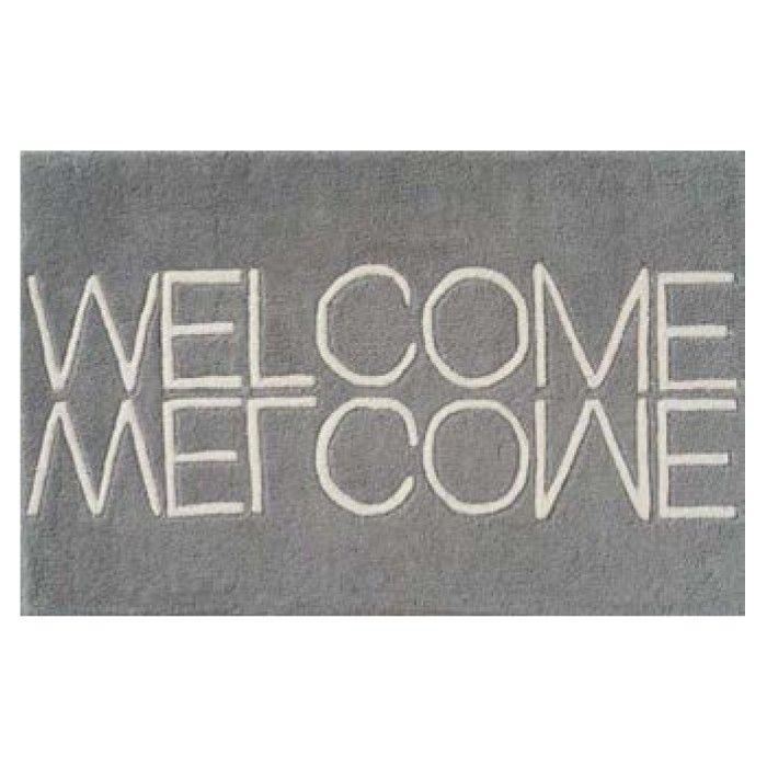 Welcome doormat - Grey | 50 x 80cm