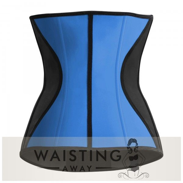 Blue 9 Steel Bone Slim Latex Waist Trainer Corset Corset