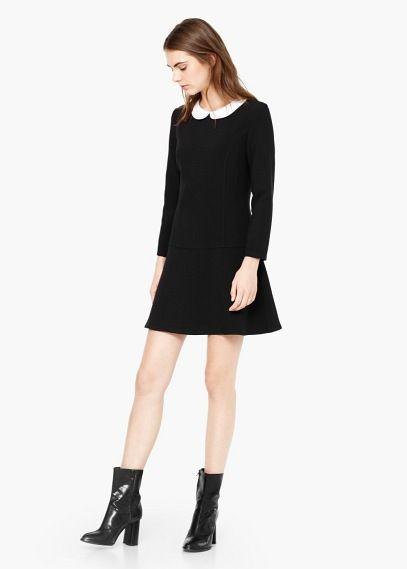 17 meilleures id es propos de robe col claudine sur pinterest robe noire col claudine robe. Black Bedroom Furniture Sets. Home Design Ideas