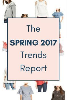 Spring will be here before we know it. Clothes retailers are starting to sell their Spring clothes and accessories! There are pastels, stripes, bell sleeves and of course the color navy! See bell sleeve top, ruffle top, soft color sneakers and raw hem jeans.