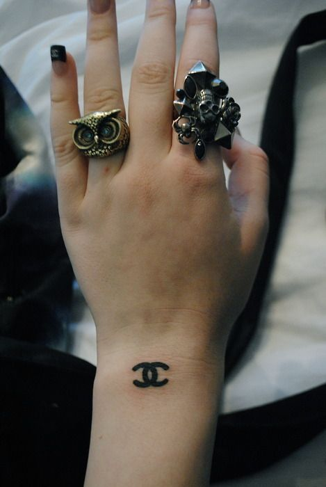 chanel tumblr | chanel, channel, ring, tatoo, tattoo - inspiring picture on Favim.com