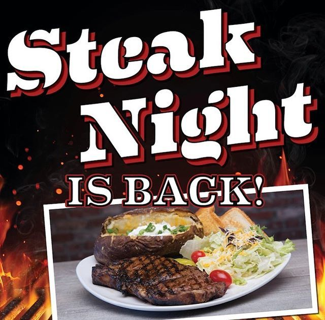 You Asked We Listened Steak Night Is Back Friday Saturday After 4pm At Our Ba And S Tulsa Locations Grilling Recipes Sides Steak Dinner Grilling Recipes
