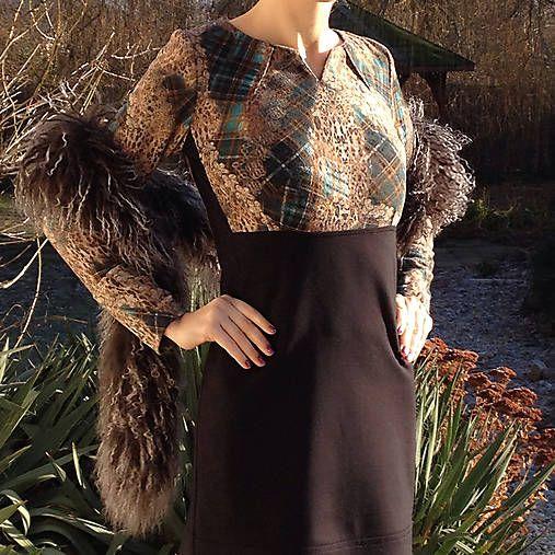 LuxuryCouture / Šaty tyrkysové
