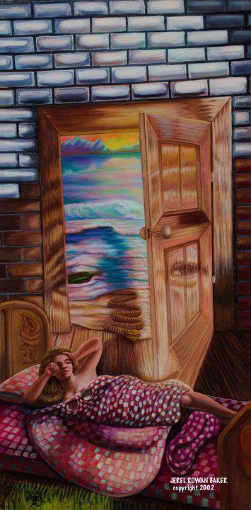 Open Door  ~   Jerel Rowan Baker
