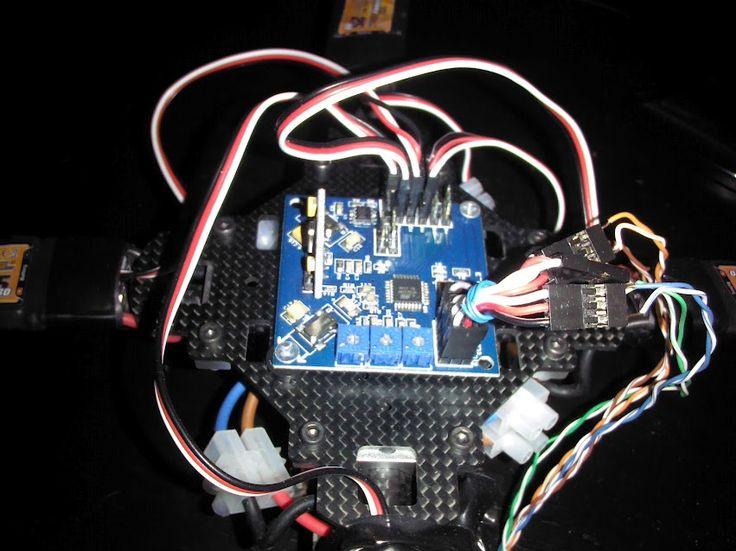 Arduino simple quadcopter dji phantom vision