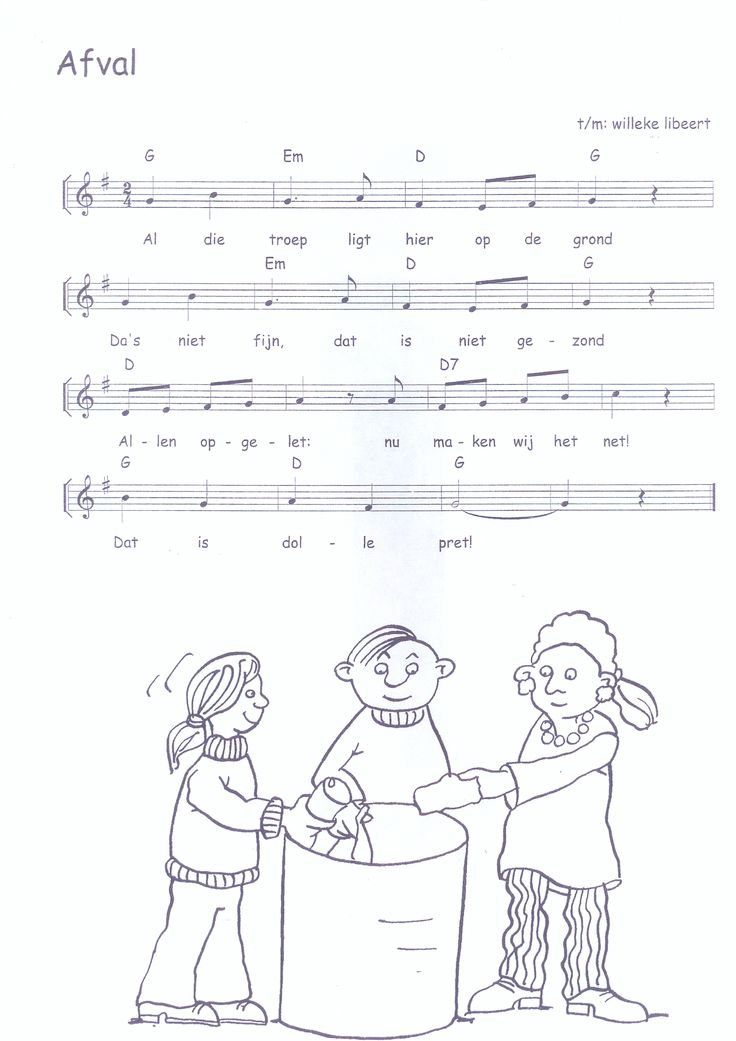 liedje: afval