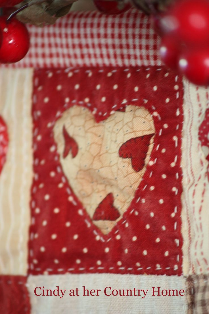 69 best Made by Cindy at her Country Home images on Pinterest ... : country home quilts - Adamdwight.com