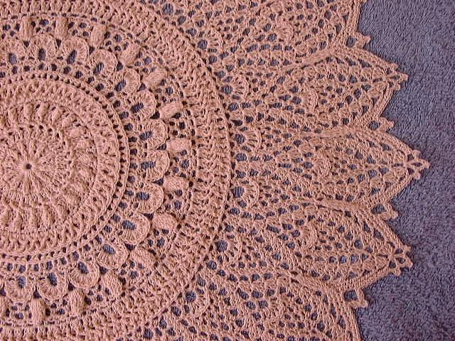 Crochet Doily ~ TrishKDesign