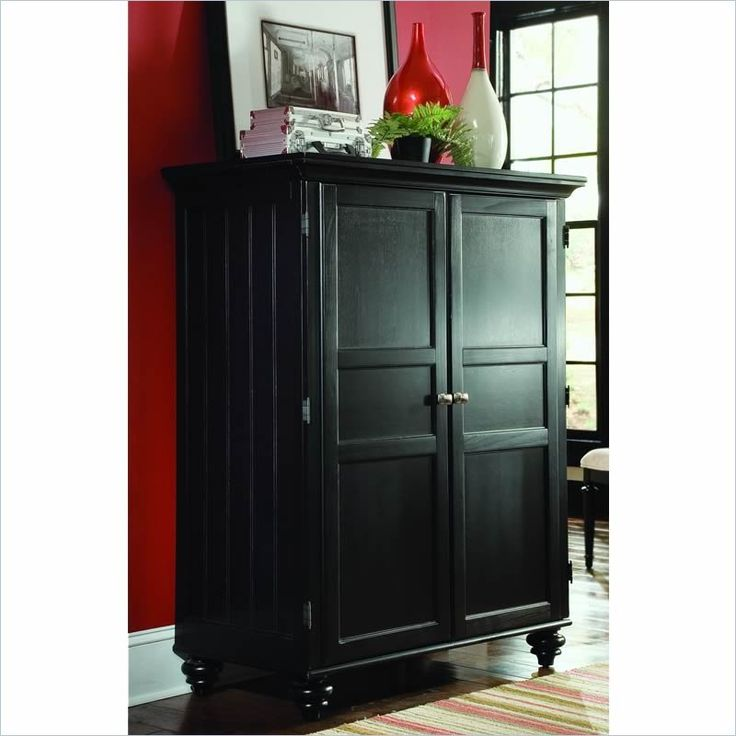 american drew camden black home office cabinet lowest price online on