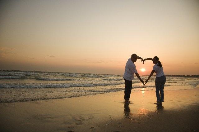 Was gibt es romantischeres als einen Sonnenuntergang?