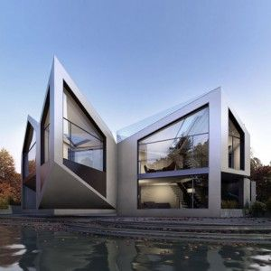 The Dynamic D*Haus by  The D*Haus Company. A house that changes based on the time of day and weather!